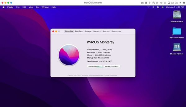 Apple Monterey 12.0 for Mac Free Download