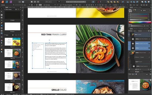 Affinity Publisher 1.10 for macOS