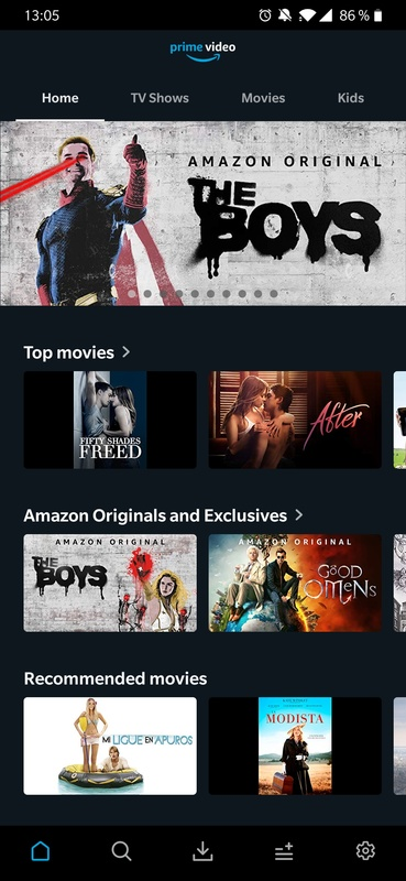 Amazon Prime Video 3.0.303.12355 for Android