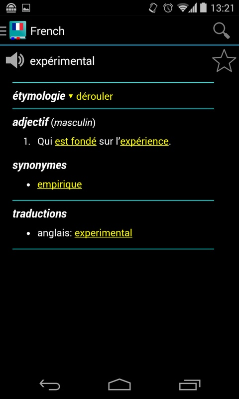 French Dictionary Offline APK Download
