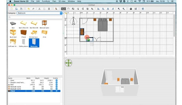 Sweet Home 3D 6.5.5 for Mac