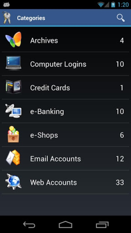 aWallet Password Manager for android free download
